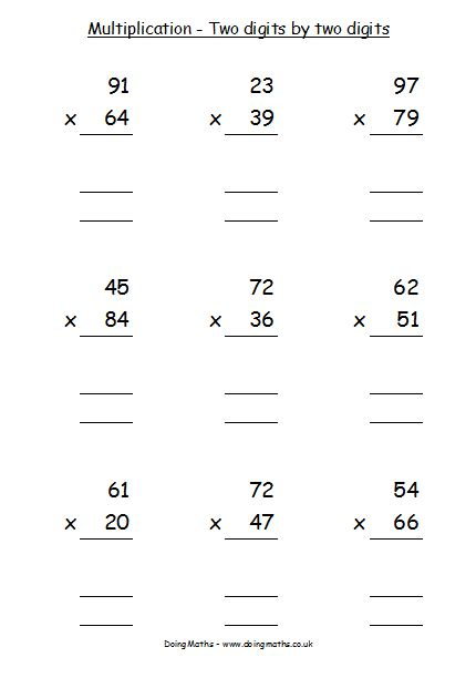 multiplication and division free resources about