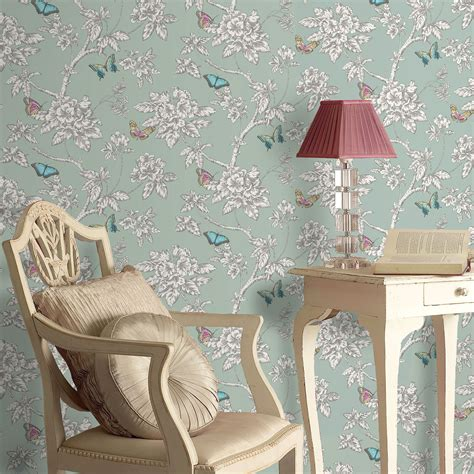 shabby chic wallpaper ideas shabby chic floral wallpaper in various designs wall decor new ebay