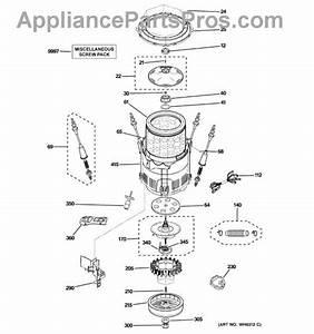 Ge Wh39x10003 Mech Hsng Asm-bearing