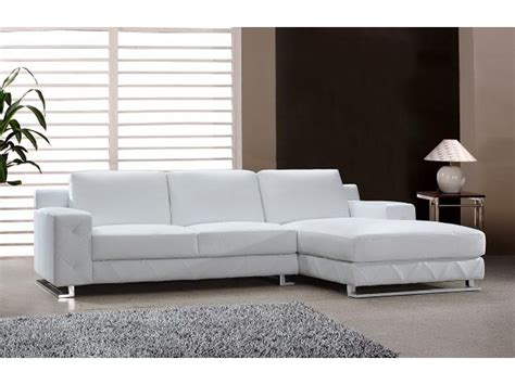best modern sectional sofa modern sectional sofa in white leather s3net sectional