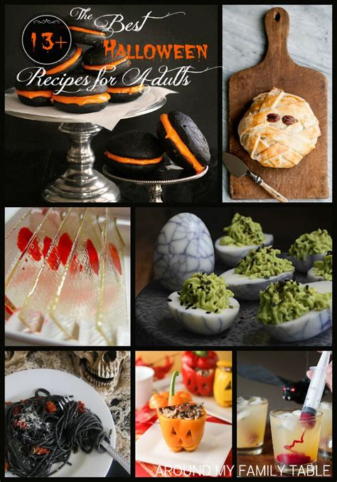 treats for adults the best halloween recipes for adults around my family table