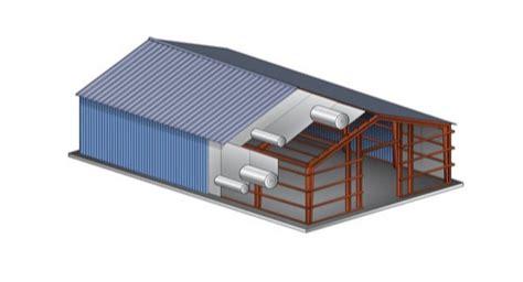 aluminum attic metal building insulation metal building roofs walls