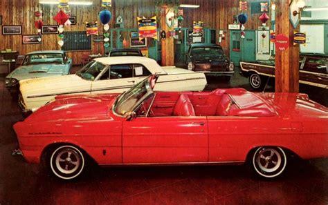 Pletcher Ford, Philadelphia, PA. 1965   Dealership showroom, Car dealership, Edsel