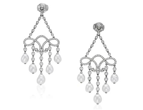 Tiffany & Co Diamond And Pearl Drop Earrings, Flower Jewelry Box Enamel Components Resin Jewellery Uk Fashion Online Facebook Silpada Bag History At Ross Amazon