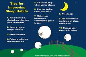 10 tips to help foster healthy sleep habits ...