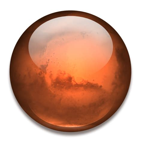 Mars Clipart Planet Mars Icon Png Clipart Image Iconbug