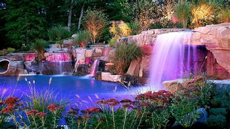 amazing waterfall wallpaper beautiful waterfall pool