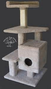 cat tree plans 1000 ideas about cat playhouse on cardboard