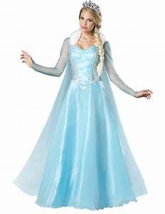 Deguisement Princesse Disney Adulte : d guisement princesse des neiges pour femme premium ~ Mglfilm.com Idées de Décoration