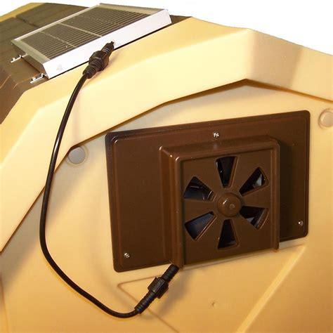 Dog House Solar Powered Exhaust Fan 95 X 65 Ebay