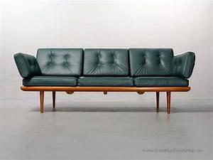 Sofa 3 2 1 Sitzer : 2 sitzer daybed minerva peter hvidt orla molgaard f r ~ Lateststills.com Haus und Dekorationen