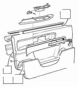 Volvo S90 Absorbent  Parts Door Panel   Left  Front  Upper