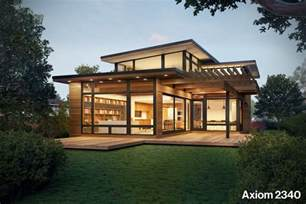 mansions designs prefab house series by dwell partners and turkel design