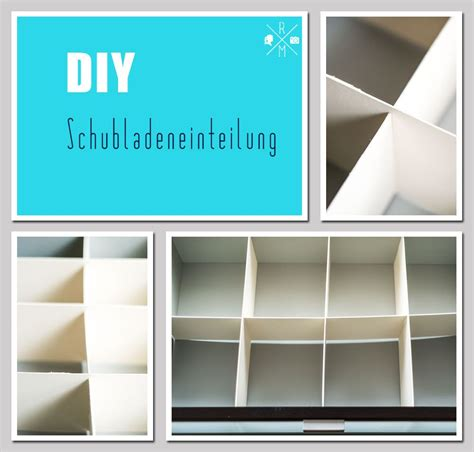 Schreibtisch Ordnung Diy by Ordnung In Schubladen Durch Schubladentrenner Selbst