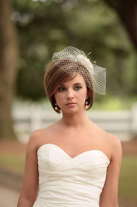 wedding hairstyles  short hair romantic  stylish