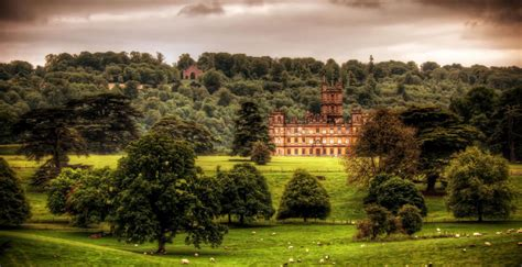 downton abbey filmada en el magico castillo de highclere buena vibra