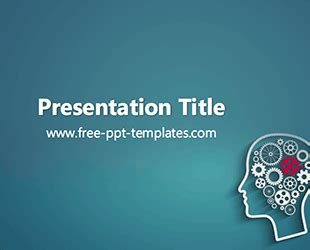 psychology  template  powerpoint templates