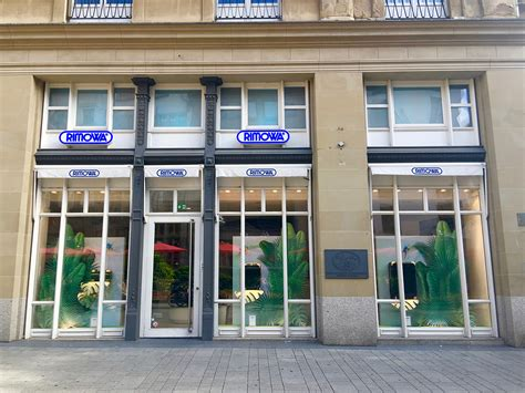 Rimowa Flagship Store Köln by One In Cologne Visiting The Cathedral And Buying
