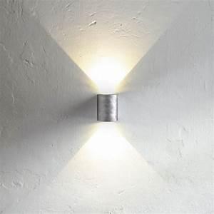 Wandleuchte Up Down : licht trend led wandleuchte ip44 zink kaufen otto ~ Whattoseeinmadrid.com Haus und Dekorationen