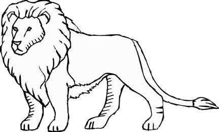 printable lion coloring pages print color craft