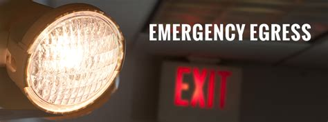 emergency egress lighting city emergency egress city equipment company
