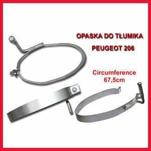 Echappement 206 : silencieux d 39 chappement collier de serrage peugeot 206 206cc 2 0 hdi ebay ~ Gottalentnigeria.com Avis de Voitures
