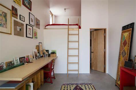 optimiser espace chambre lit mezzanine pour une chambre d ado originale design feria