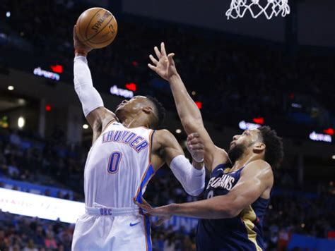 russell westbrooks  triple double leads thunder