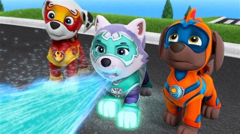 paw patrol mission paw mighty pups team skye chase