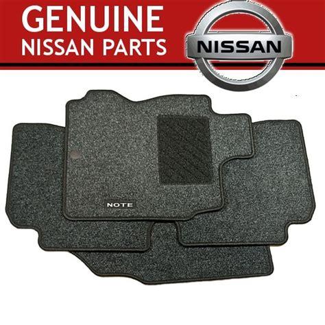 Nissan Note Car Mats - genuine set of 4 nissan note premium carpet floor mats