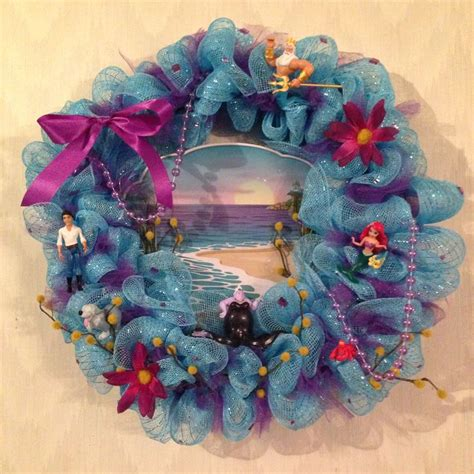 Little Mermaid Wreath Nailed It Pinterest Mermaids