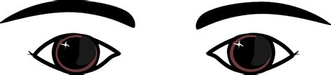 thick eyebrows cliparts   clip art