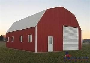 gambrel barn style metal building kit With barn style steel building