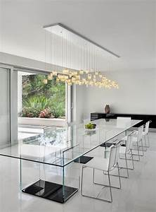 30, Ways, To, Incorporate, A, Glass, Dining, Table, Into, Your, Interior