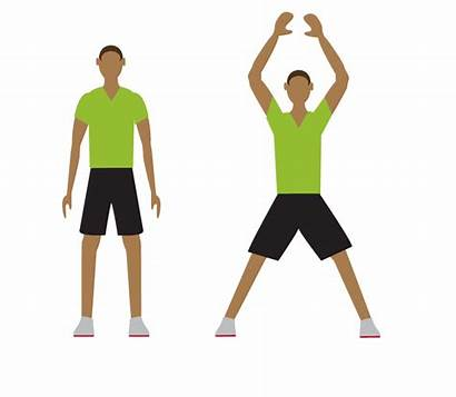 Exercise Jumping Transparent Jack Clipart Workout Minute