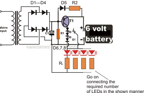wiring diagram for 12 volt emergency light get free