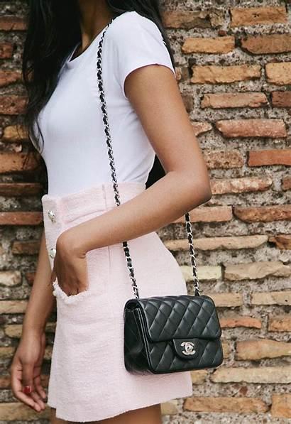 Chanel Square Bag Steffysstyle Outfit Artigo Shots