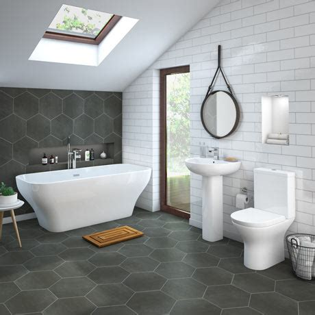 Mirage Freestanding Bath Suite  Victorian Plumbing Uk