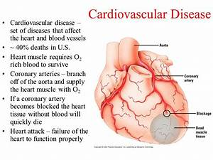 Cardiovascular Disease - ppt video online download