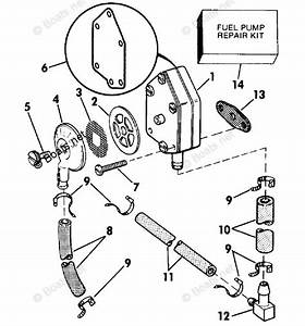 Evinrude Outboard Parts By Year 1989 Oem Parts Diagram For