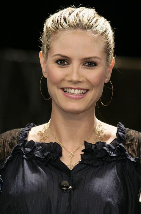 Top Model Sexy Heidi Klumsuper Starsuper