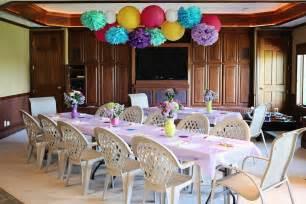 Bridal Shower Table Decorations Ideas