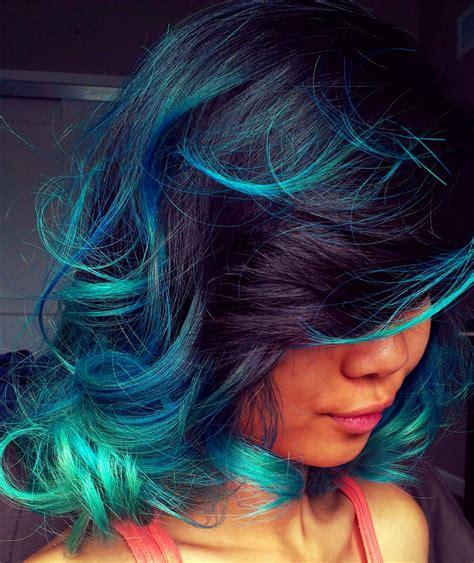 Rainbow Hair Color Ideas Popsugar Beauty