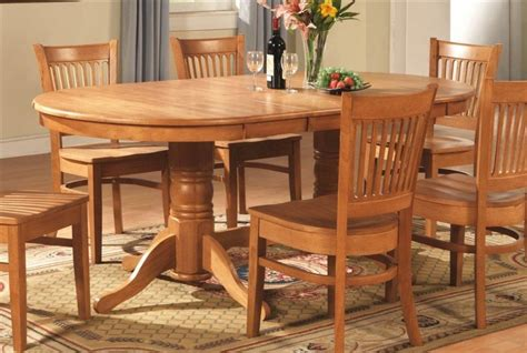 Outstanding Solid Oak Kitchen Table Rustic