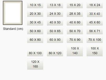 taille de cadre standard cadre sur mesure encadrement sur mesure passepartout et caisse am 233 ricaine pas cher