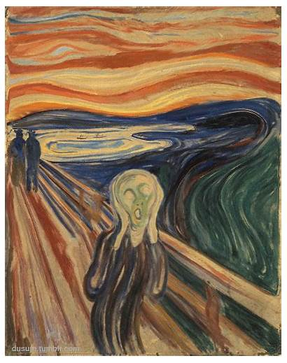 Scream Munch Edvard Giphy Gifs 1893 Meaning