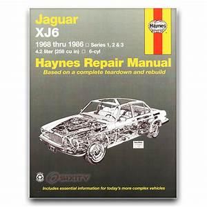 Jaguar Xj6 Haynes Repair Manual L Base C Shop Service
