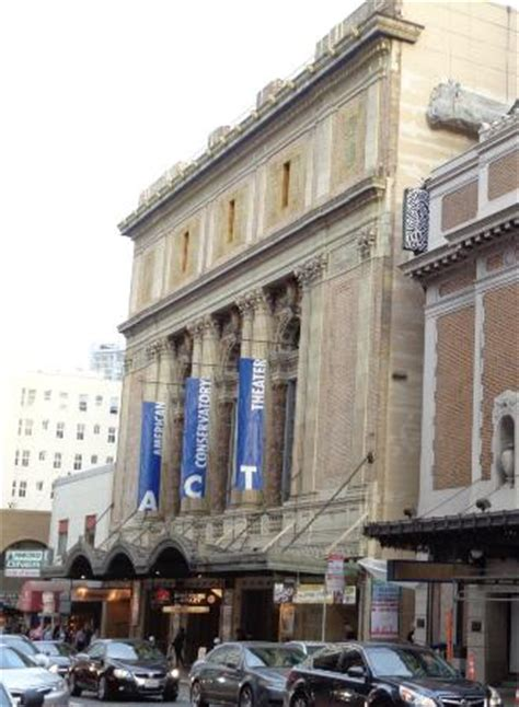 Inside ACT.   Picture of American Conservatory Theater