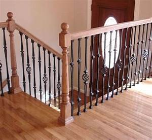 Wood And Wrought Iron Railings