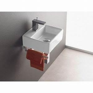 Handwaschbecken Gäste Wc : wandmontage waschbecken bermeo 4901 inkl handtuchhalter ~ Michelbontemps.com Haus und Dekorationen